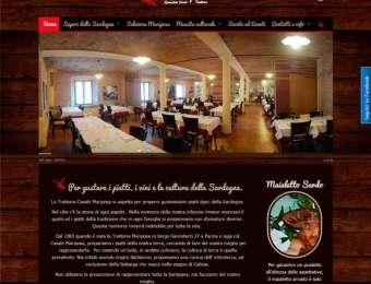 Sito web Trattoria Casale Mariposa